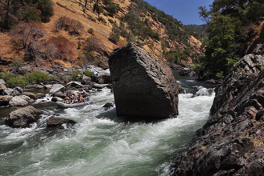 Stern's Rapid on the Tuolumne River